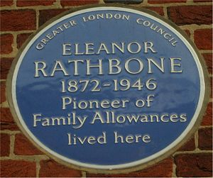 Eleanor Rathbone